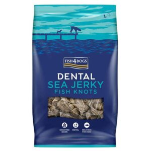 Fish4Dogs Dental Sea Jerky Fish Knots 100 g