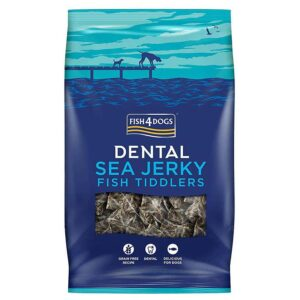 Fish4Dogs Dental Sea Jerky Fish Tiddlers 115 g