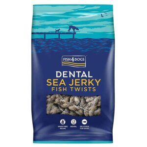 Fish4Dogs Dental Sea Jerky Fish Twists 100 g