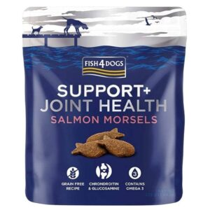 Fish4Dogs Support + Joint Health Salmon Morsels 225 g