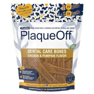 PlaqueOff Dental Dental Care Bones Chicken & Pumpkin